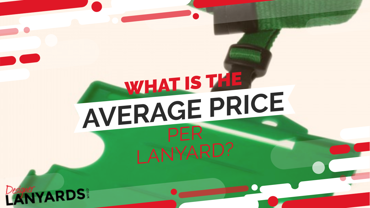 What is the average price per lanyard
