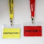 Workers Lanyard and Badge Holder in Aber-Gi 2