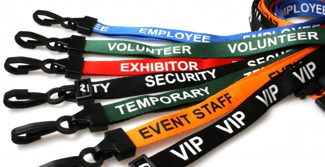 Pre-Printed Lanyards in Leicestershire