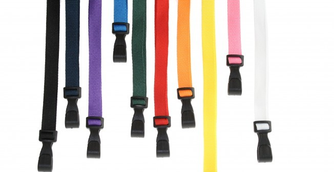 Fashionable Lanyards in Allwood Green
